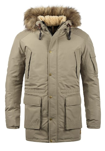 Jack & Jones Parka »Jaakov«, warme Jacke mit abnehmbarem Kunstfellkragen kaufen