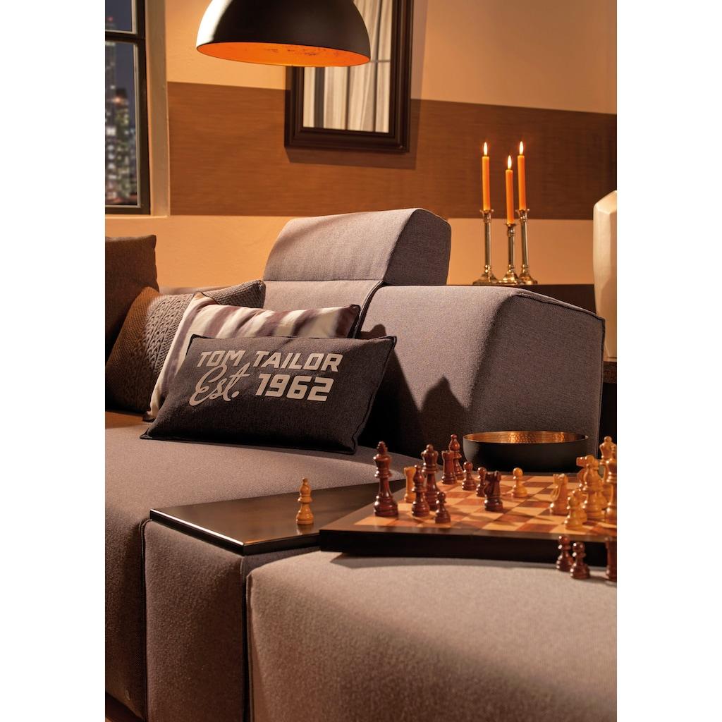 TOM TAILOR Tischelement »ELEMENTS«, Tischplatte schwarz, als Couchtisch oder Sofaelement einsetzbar