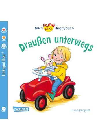 Buch »Baby Pixi (unkaputtbar) 66: Mein Baby-Pixi-Buggybuch: Draußen unterwegs / Eva Spanjardt« kaufen