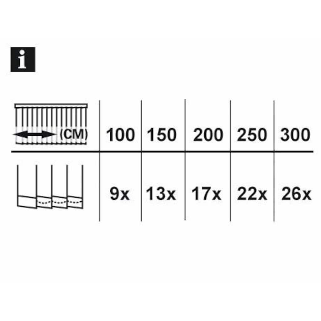 GARDINIA Lamellenvorhang »Lamellenvorhang Komplettanlage«