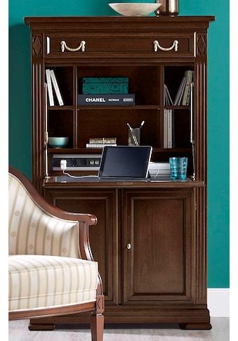 SELVA Sekretär »Villa Borghese«, Modell 6375, Höhe 152 cm, mit lederbezogener... kaufen