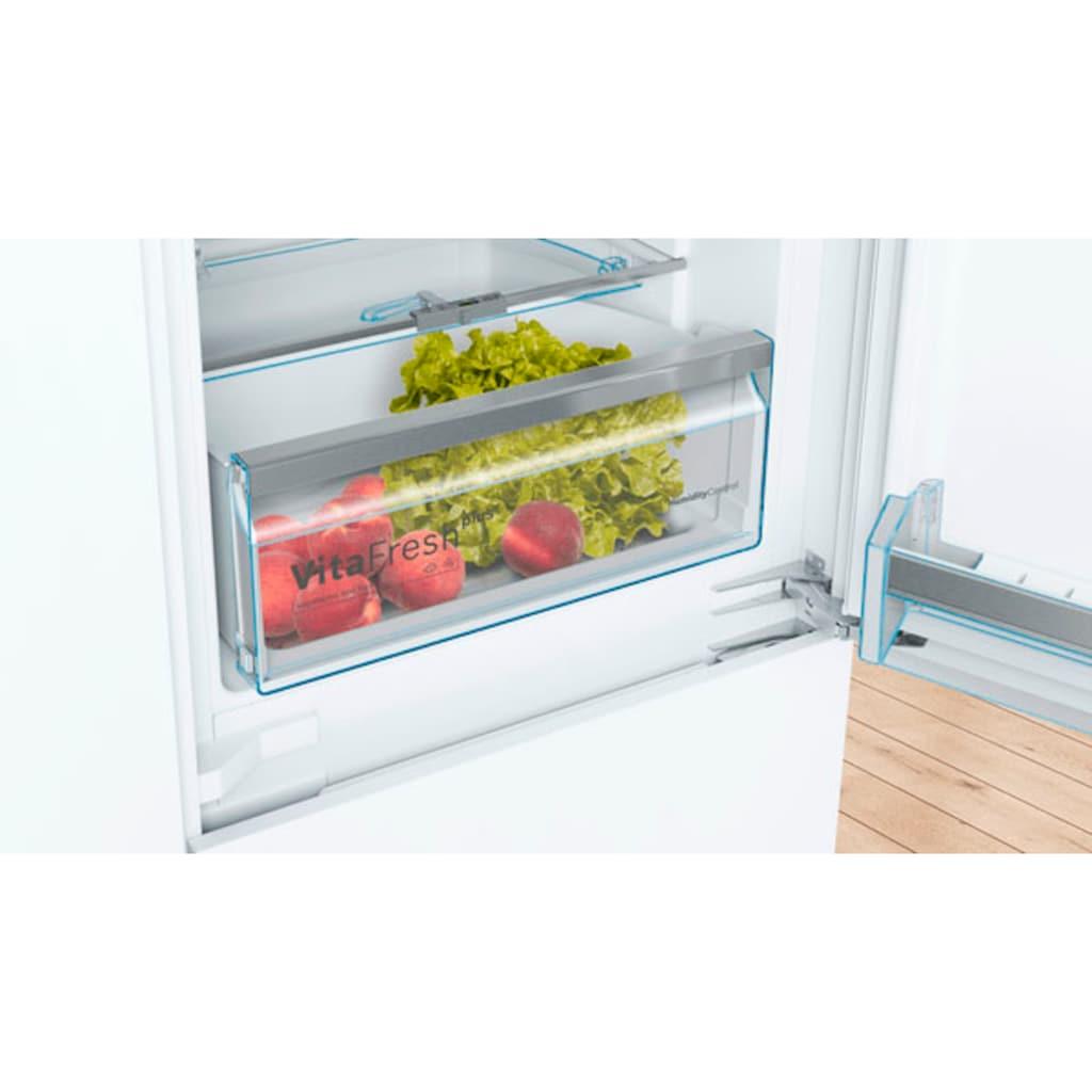 BOSCH Einbaukühlgefrierkombination »KIN86AFF0«, 6