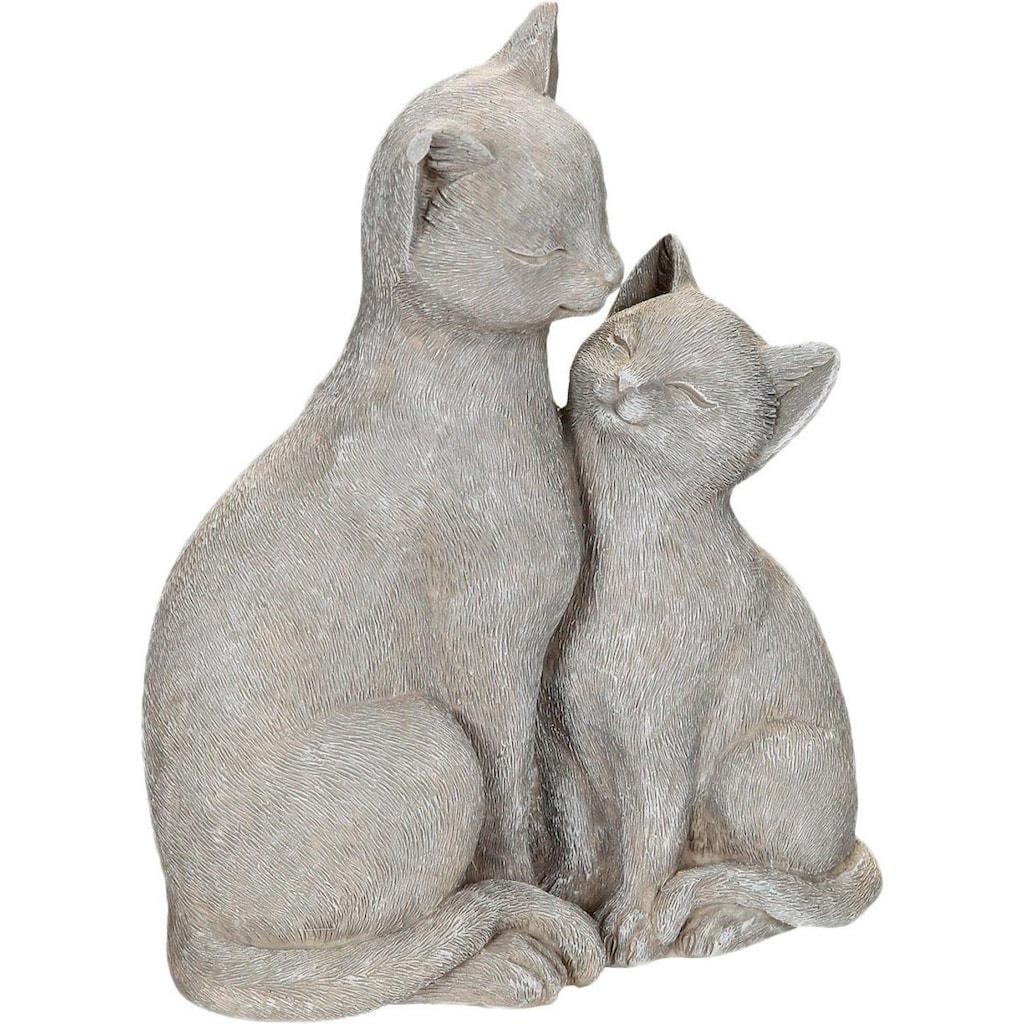 Home affaire Dekofigur »Katze mit Kätzchen«, Höhe 21 cm