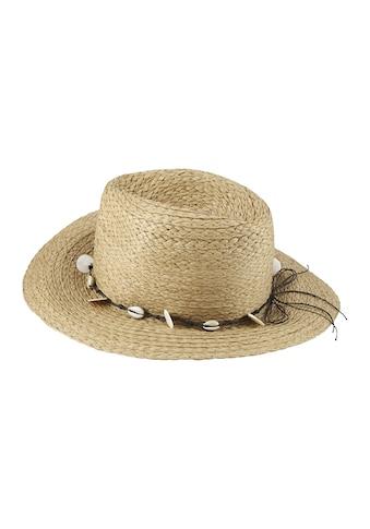 Hut mit Muschelband kaufen