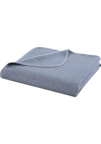 BIEDERLACK Wohndecke »Reused«, aus recycelten Jeans-Artikeln kaufen