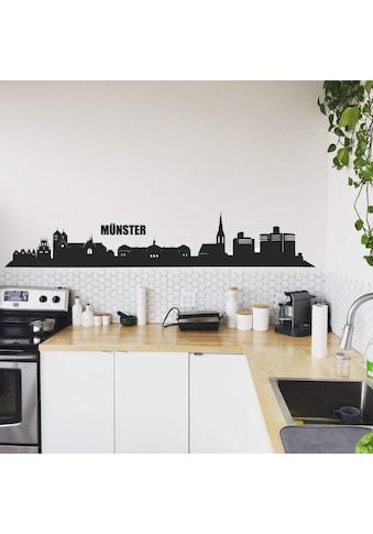 Wall-Art Wandtattoo »XXL Stadt Skyline Münster 120cm« kaufen
