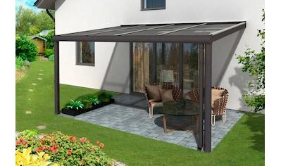 SKANHOLZ Terrassendach »Modena«, Breite: 434 cm, anthrazit kaufen