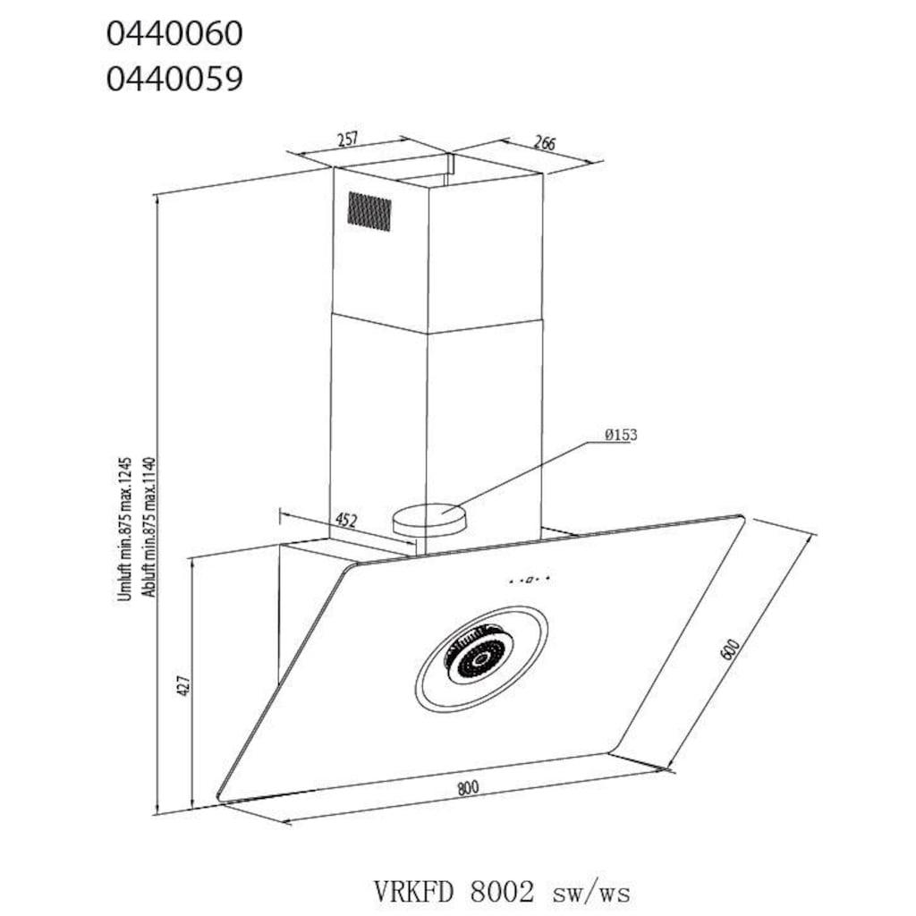 vonReiter Kopffreihaube »VR KFD 8002«, in schwarz