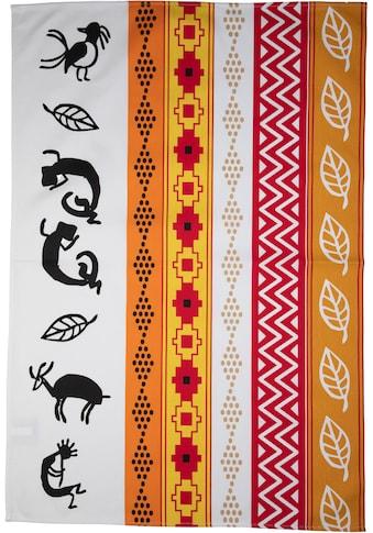 stuco Geschirrtuch »Inka«, (Set, 3 tlg.), bedruckt kaufen