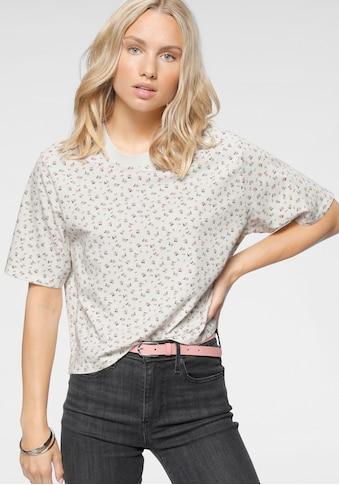 Levi's® T-Shirt »Boxy Tee«, mit Millefleur-Print kaufen