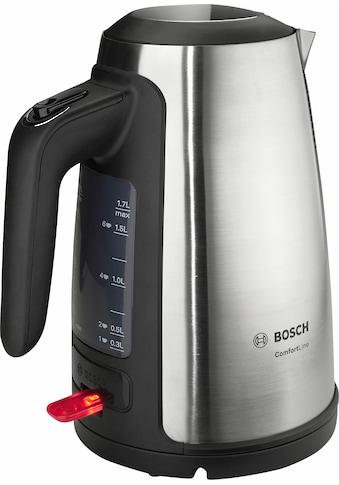 BOSCH Wasserkocher »ComfortLine TWK6A813«, 1,7 l, 2400 W kaufen