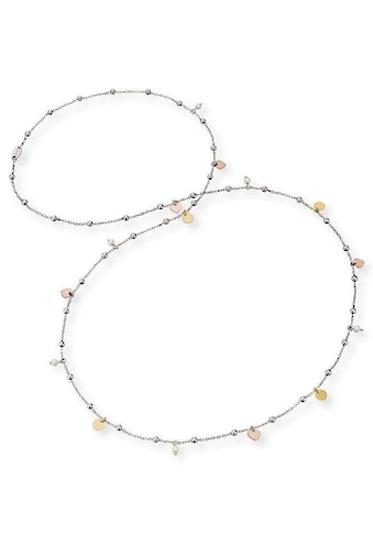 Engelsrufer Silberkette »Herzen, Little Joy, ERN-LILJOY-PE-TR«, mit Muschelkernperlen kaufen