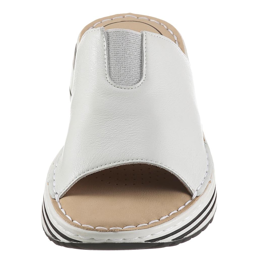 Ara Pantolette »SAPPORO«, mit Stretcheinsatz