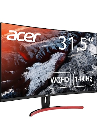 Acer »ED323QUR« Curved - Gaming - LED - Monitor (31,5 Zoll, 2560 x 1440 Pixel, WQHD, 4 ms Reaktionszeit, 144 Hz) kaufen