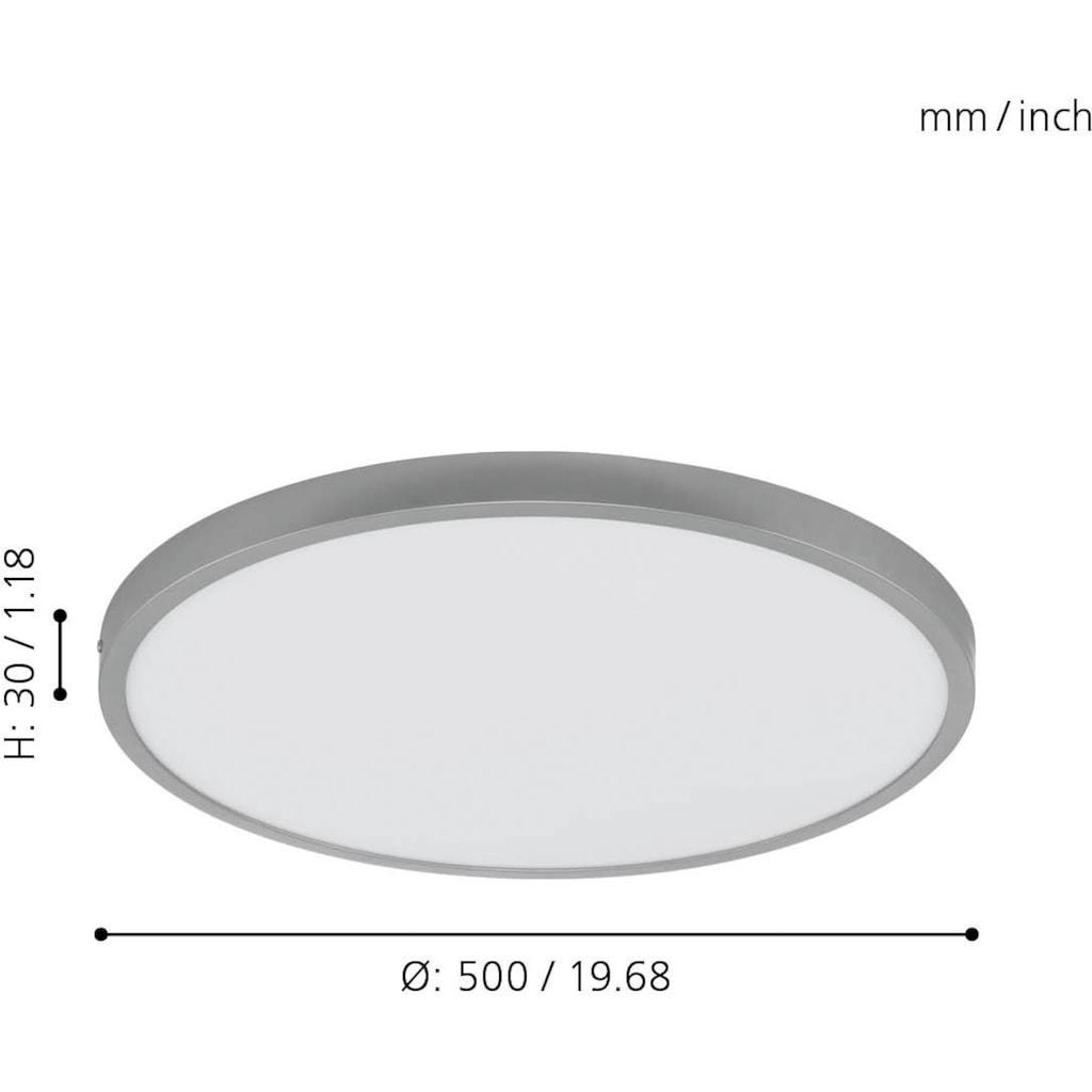 EGLO Aufbauleuchte »FUEVA 1«, LED-Board, 1 St., Neutralweiß, schlankes Design, nur 3 cm hoch, Durchm. 50 cm