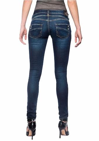 Herrlicher Slim-fit-Jeans »PIPER SLIM REUSED DENIM«, Low Waist Powerstretch kaufen