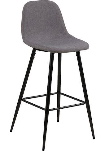 andas Bistrostuhl »Wilma«, 2er Set, mit zwei unterschiedlichen pflegeleichten Bezugsqualitäten erhältlich, Sitzhöhe 65 cm kaufen