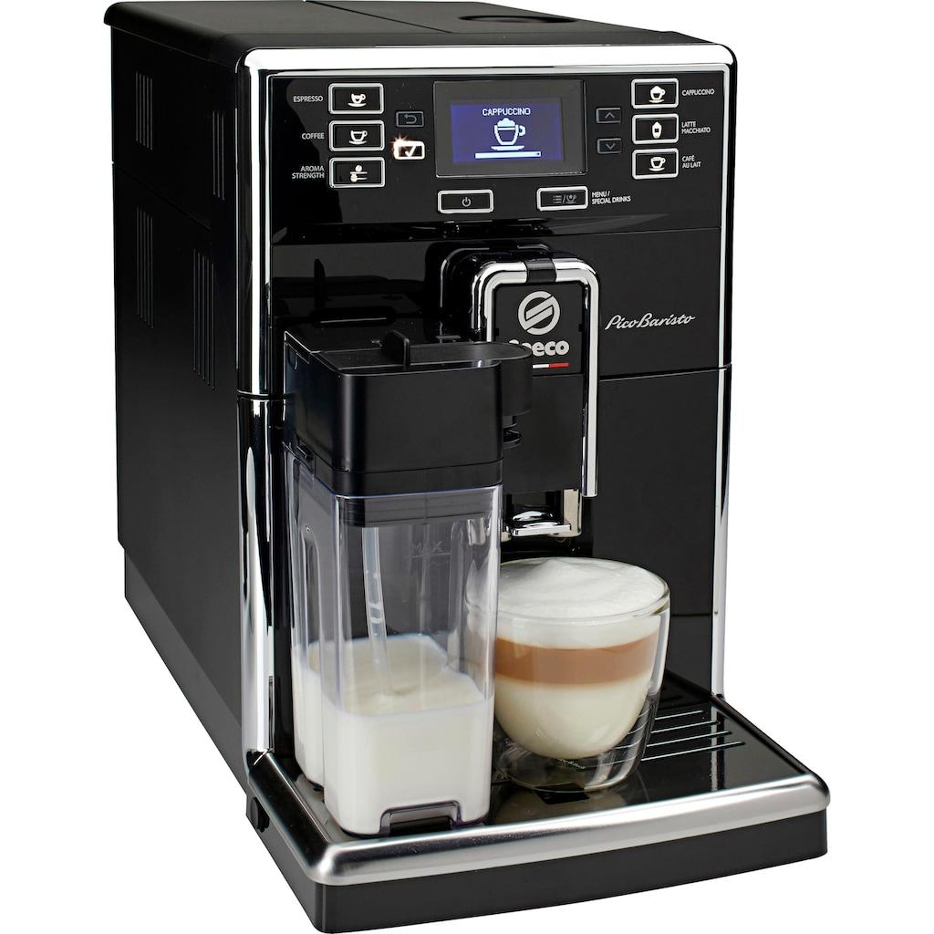 Saeco Kaffeevollautomat SM5460/10 PicoBaristo, 1,8l Tank, Scheibenmahlwerk