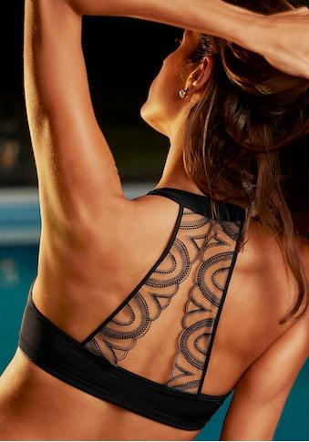 LASCANA Schalen-BH, mit Tattoo-Rücken und Vorderverschluss kaufen