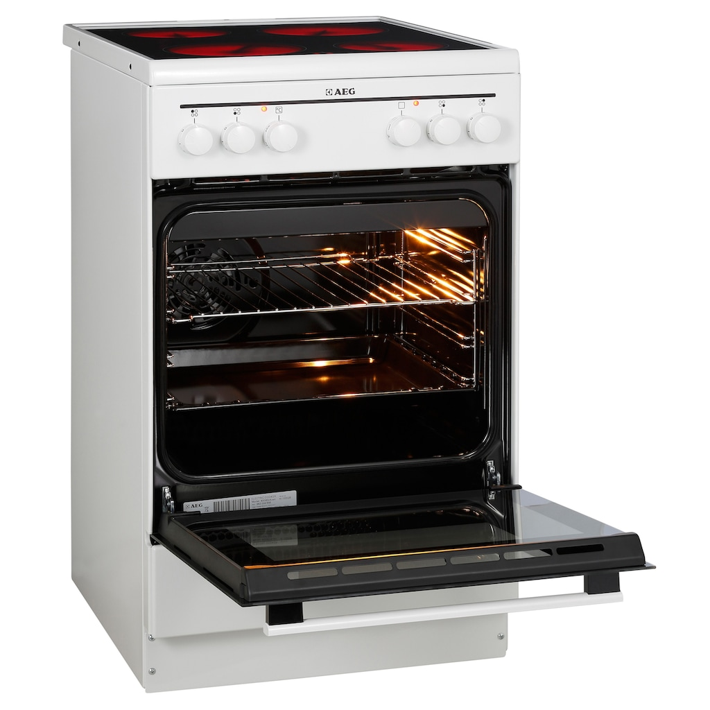 AEG Elektro-Standherd »40095VA-WN/COMPETENCE«, mit Grillfunktion