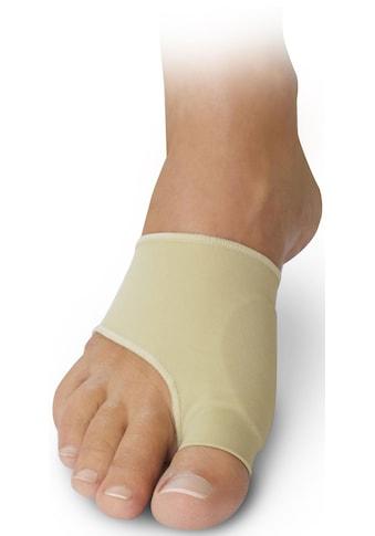 Fußgut Überbeinschutz, mit Gelpolster, lindert Schmerzen bei Hallux Valgus kaufen