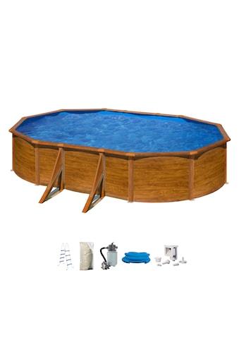 MyPool Ovalpool, (Set), 5-tlg., BxLxH: 375x610x132 cm kaufen