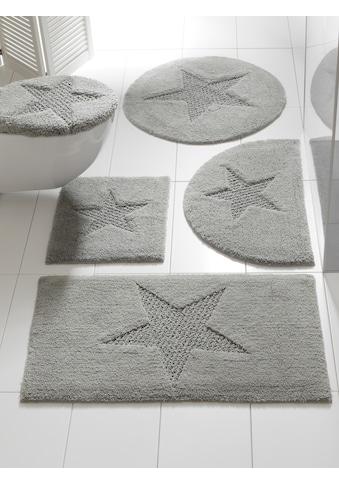 Badteppich mit Stern - Motiv kaufen