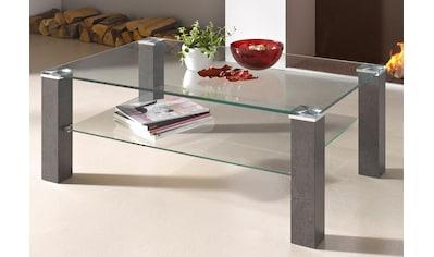 PRO Line Couchtisch, mit Klarglasplatte, rechteckig kaufen