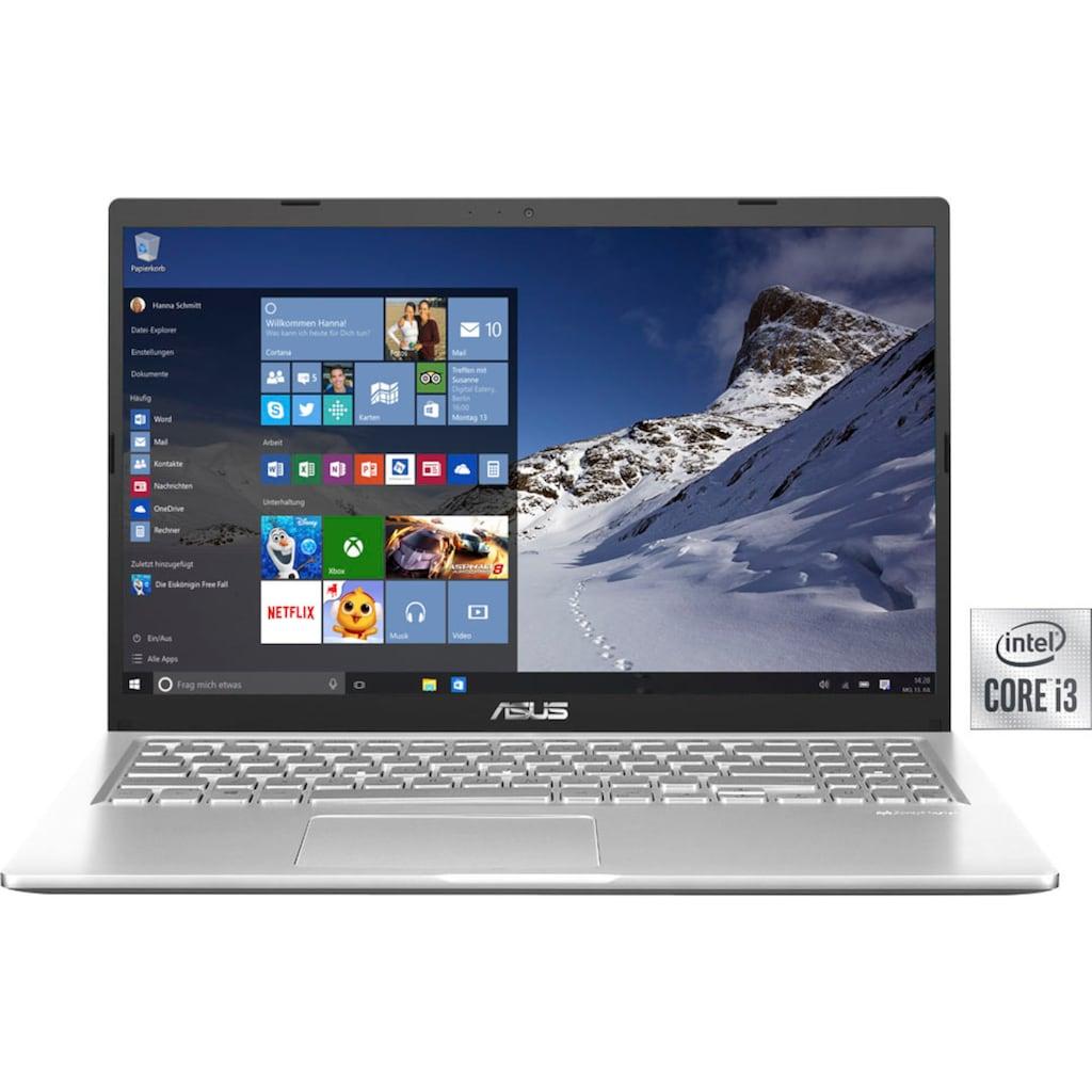 "Asus Notebook »F515JA-EJ721T«, (39,6 cm/15,6 "" Intel Core i3 UHD Graphics\r\n 512 GB SSD), Kostenloses Upgrade auf Windows 11, sobald verfügbar"