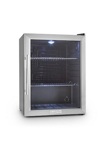 Klarstein Kühlschrank Minibar Getränkekühlschrank Glastür 60L Klasse kaufen