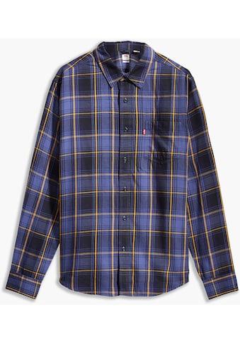 Levi's® Langarmhemd »LE SUNSET 1 POCKET STAND«, mit Alloverprint kaufen
