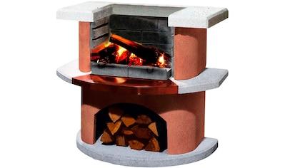Buschbeck Holzkohlegrill »Grillbar Bologna«, BxTxH: 110x65x93 cm kaufen