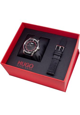 HUGO Quarzuhr »#REVEAL, 1530099« (Set, 2 tlg., mit Wechselband) kaufen