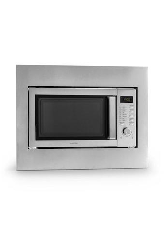 Klarstein Mikrowelle 23 liter Einbaugerät Grillfunktion Edelstahl Groß kaufen