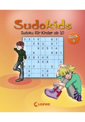 Buch »Sudoku für Kinder ab 10. Block 4 / Nicole Schoening, Deike Press« kaufen