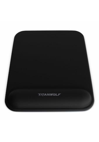 Titanwolf Gel Mauspad mit Handgelenkpolster »Office Mousepad mit Handgelenkauflage« kaufen