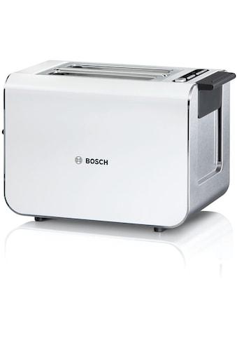 BOSCH Toaster »Styline TAT8611«, 2 kurze Schlitze, 860 W kaufen