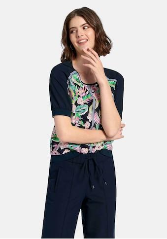 Looxent Blusenshirt »zum Schlupfen«, mit Floral-Muster kaufen
