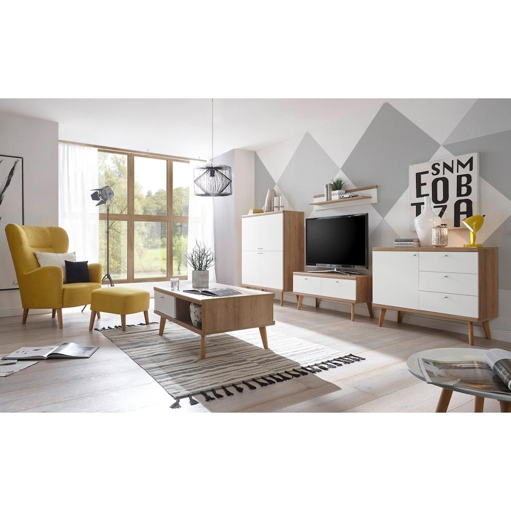 andas Couchtisch »Merle«, im skandinavischen Design, Höhe 46 cm