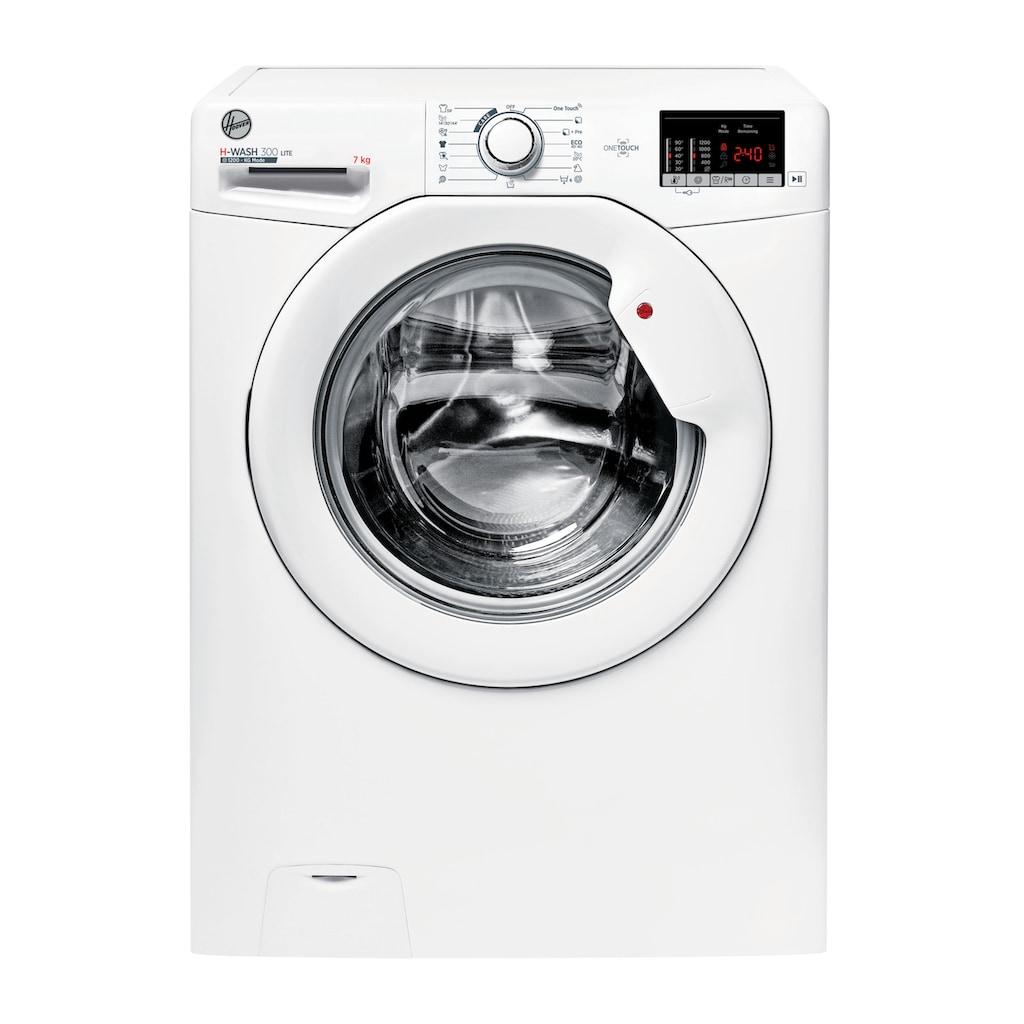 Hoover Waschmaschine, H3W4 272DE/1-S, 7 kg, 1200 U/min