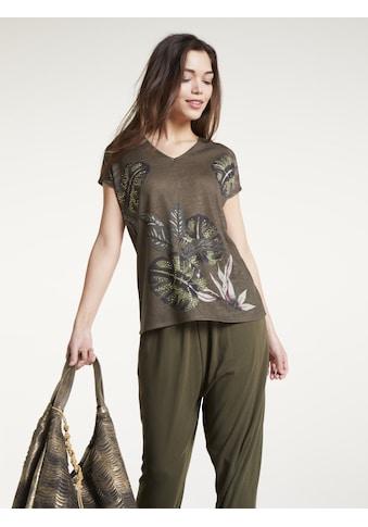 Shirt mit floralem Print kaufen