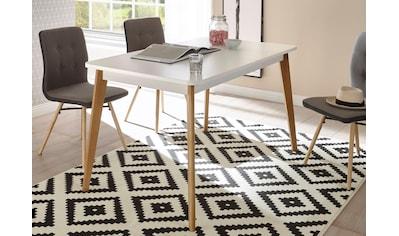 andas Esstisch »Merle«, im skandinavischen Design, Breite 140 (-180) cm kaufen