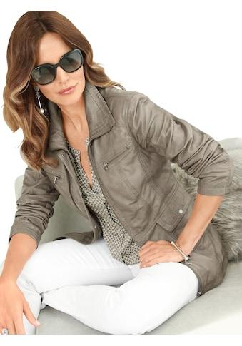 Classic Inspirationen Leder - Jacke in leichter Used - Optik kaufen