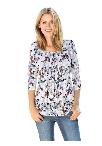 Classic Inspirationen Shirt mit Faltenpartie im Vorderteil kaufen