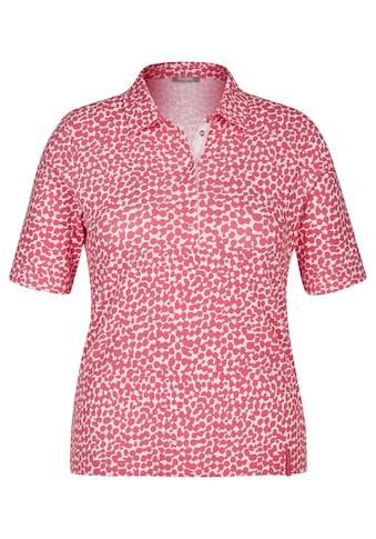 Rabe T-Shirt, mit getupftem Muster und kurzen Ärmeln kaufen