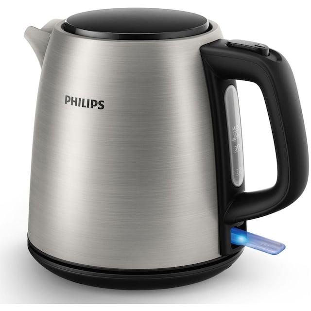 Philips Wasserkocher, Daily Collection HD9348/10, 1 Liter, 2000 Watt