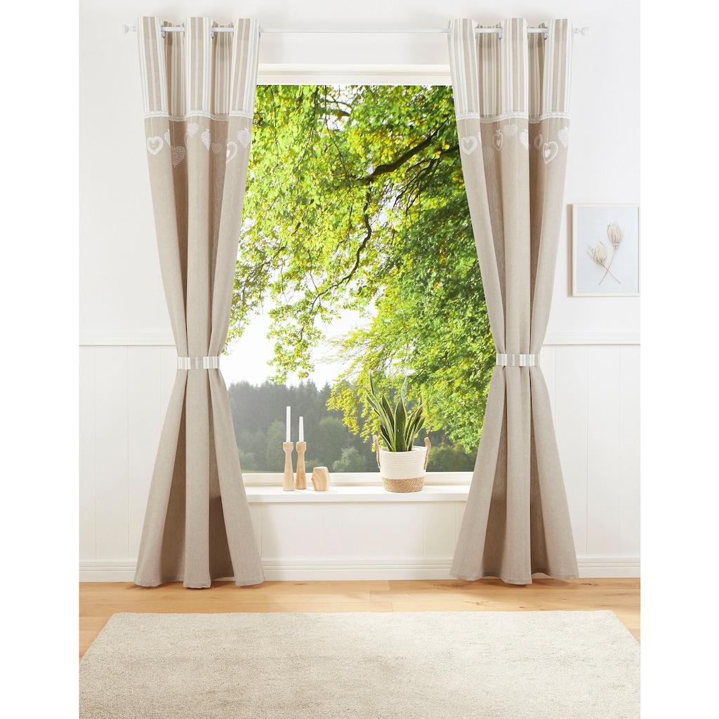 my home Vorhang »Merle«