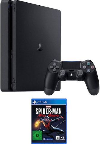 PlayStation 4 Konsolen-Set »Slim«, inkl. Spiderman Miles Morales kaufen