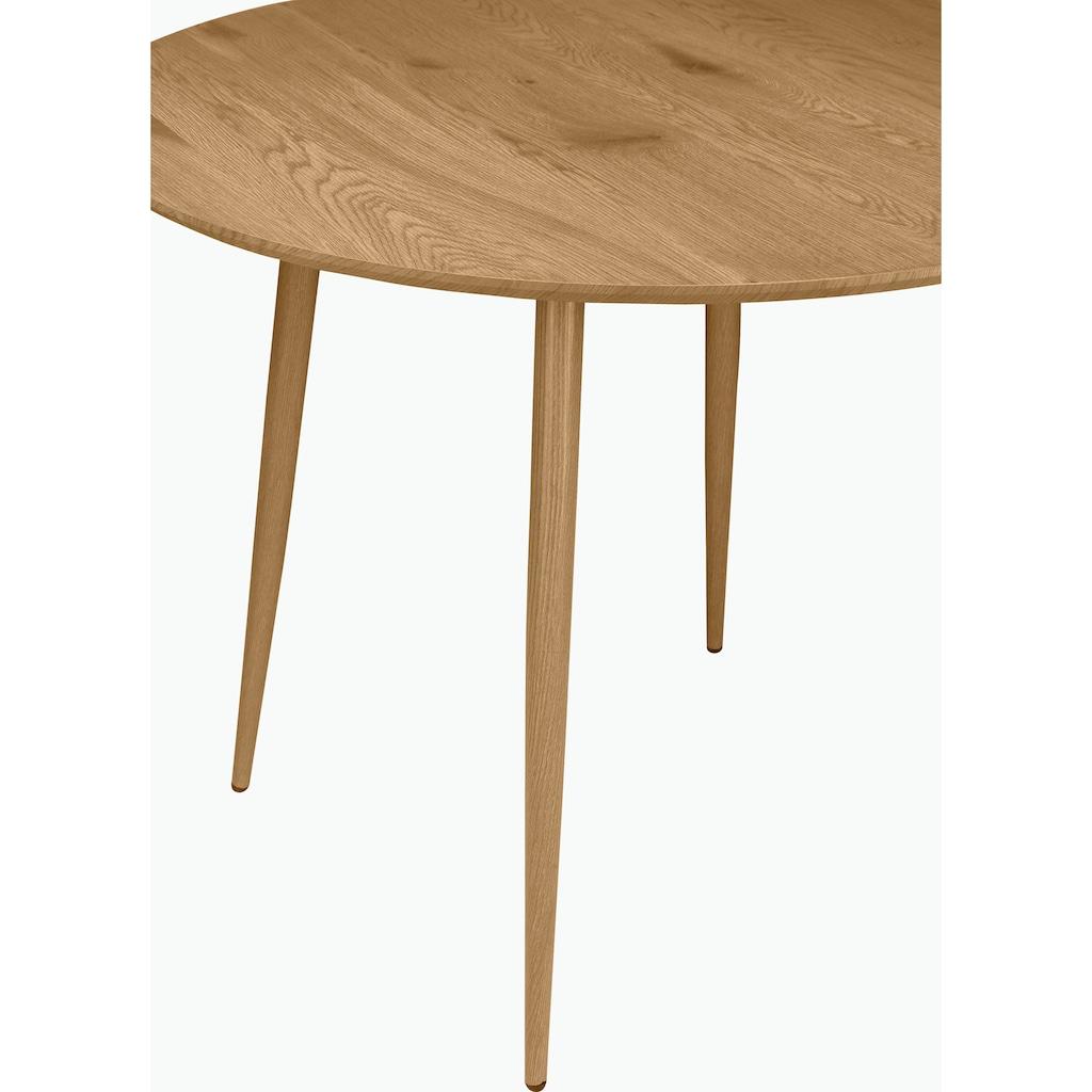Leonique Esstisch »Eadwine«, Tischplatte auch in Marmor-Optik erhältlich