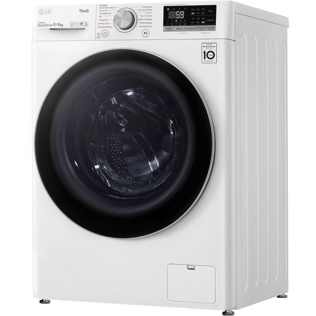 LG Waschtrockner »V5WD96H1«